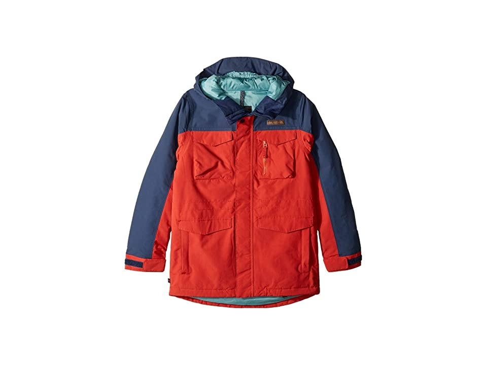 Burton Kids Covert Jacket (Little Kids/Big Kids) (Bitters/Mood Indigo) Boy