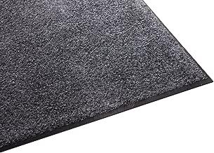 Guardian Platinum Series Indoor Wiper Floor Mat, Rubber with Nylon Carpet, 3'x15', Grey