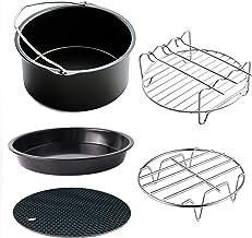 5 قطع 15.24 سم / 20.32 سم ملحقات مقلاة كهربائية للمطبخ المنزلي وأدوات الشواء والخبز والطهي والمقلاة