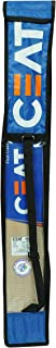 STC CEAT First Class Top Grade Thick Edge Light Weight T20 Format Short Handle International Quality Kashmir Willow Cricket Bat with Full Size Bat Cover