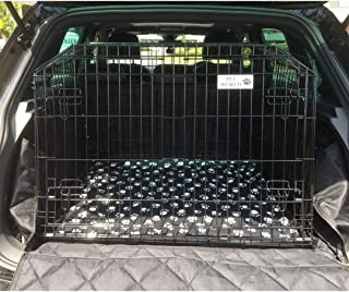 Vauxhall Crossland X inclinada Perro Mascota Cachorro Jaula de viaje protector transportador de cajón