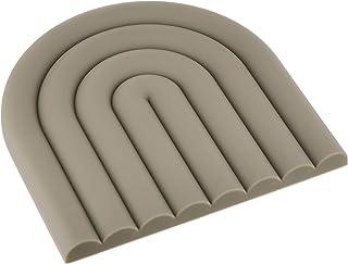OYOY Living Design Trivet Caramel grön (L1101050-706): Grytunderlägg värmebeständig av silikon i regnbåge-form – mångsidig...