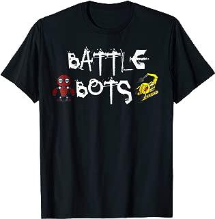 Battle Bots Fighting Robots T-shirt
