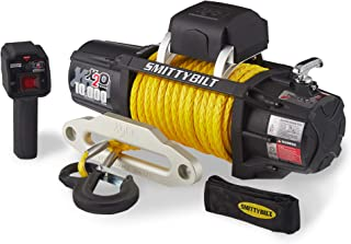 Smittybilt 98510Y X2O Gen2 10,000 Pound Wireless Waterproof Synthetic Rope Winch