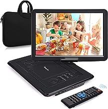 "NAVISKAUTO 16"" Tragbarer DVD Player HDMI Eingang HD 1080P 1366*768 6 Stdn. Akku.."