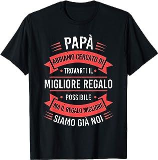 Festa Del Papà Maglietta Uomini Padre Figlia Regalo Padre Maglietta