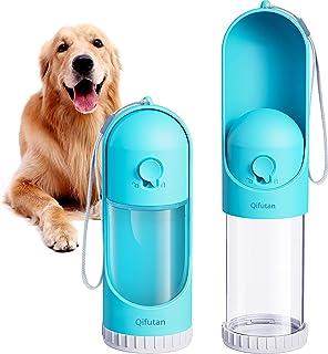 Qifutan Portable Dog Water Bottle for Walking - Leak Proof Retractable Puppy Water Dispenser for Travel, Lightweight Pet W...