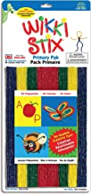 product image for WikkiStix Primary Colors Molding & Sculpting Sticks (English & French Bilingual Packaging)