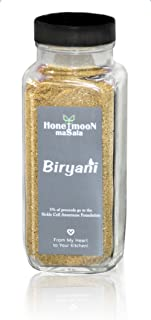 Honeymoon Masala Biryani Spice Blend, 5.2 oz Glass Bottle