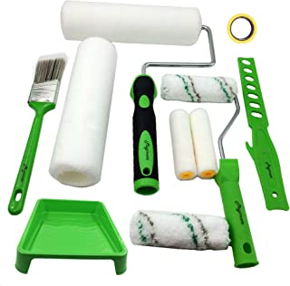 Magimate Paint Roller Kit, Roller Brushes for Painting Walls, Cabinets, Fences and Decks, Multi-functional Decorative Pain...