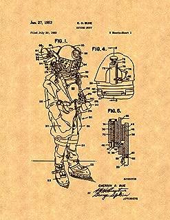 Diving Suit Patent Print (8