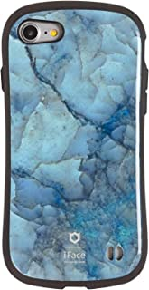 iFace First Class Marble iPhone SE 2020 第2世代/8/7 ケース [ブルー]
