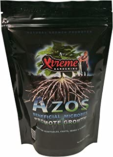 RTI Xtreme Gardening Azos Beneficial Bacteria, Natural Growth Promoter, 6-Ounce Bag