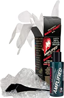 Manic Panic Green Envy Amplified Hair Coloring Kit, Vegan Semi-Permanent Green Hair Dye Cream - 3X Pigments & Lasts 30% Longer Than Classic Voltage (6-8 Weeks) - PPD & Ammonia-free - Ready to Use