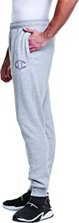 Champion mens Powerblend Embroidered Jogger Sweatpants