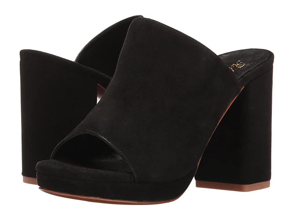 Clergerie Abrice (Black Suede) Women