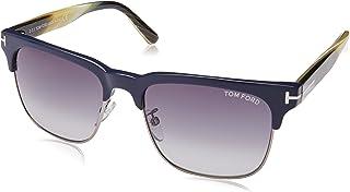 41efbc0243 Tom Ford STF.00386.89W.55 Gafas de Sol para Hombre, color Azul