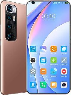 M10 Ultra 5G Smartphone, 7.2 Inch HD Android 10 4 GB RAM and 32 GB ROM 24+48MP Camera Storage (Dual Sim) 6000mAh,Gold