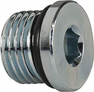 Male BSPT Carbon Steel Adaptall 9030TCSP-08 Series 9030Tcsp Carbon Steel Countersunk Plug