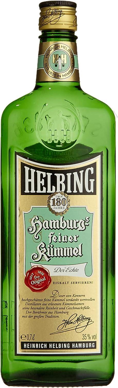 Helbing Kümmel Hamburgs Feiner Kümmel Schnaps Seit 1836 Trinkt Man Eiskalt Pur Oder Mit Tonic 1 X 0 7 L Amazon De Bier Wein Spirituosen
