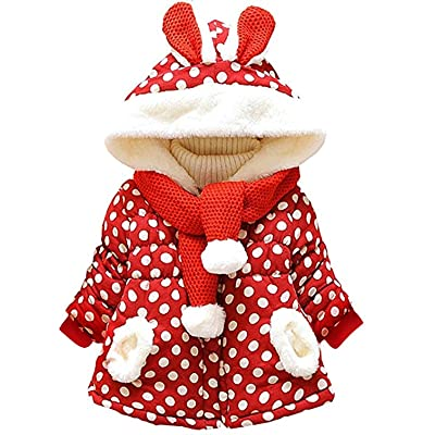 Garsumiss Baby Girl Jacket Thick Winter Hoodie ...
