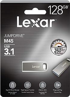 Lexar Jumpdrive M45 128GB USB 3.1 Metal Flash Drive up to 250MB/s