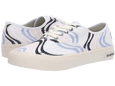 SeaVees Legend Sneaker Embroidery (Pastel Wavy) Women