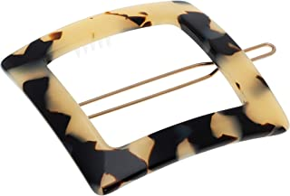 France Luxe Square Cutout Tige Boule Barrette