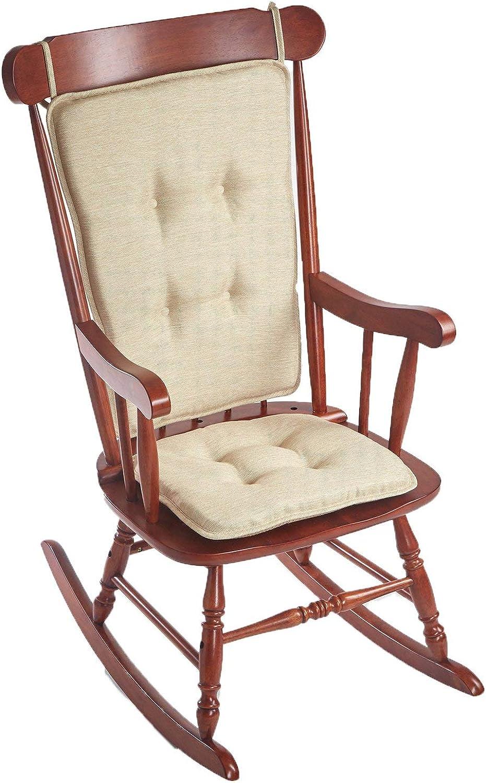 Klear Vu Embrace Rocking Chair Cushion, 16 x 17.5 x 2, Natural