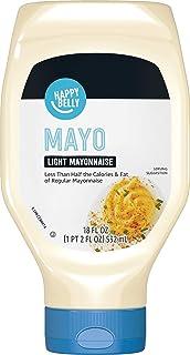 Amazon Brand - Happy Belly Light Mayonnaise, 18 Ounce