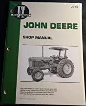 I&T JOHN DEERE TRACTOR SERVICE SHOP MANUAL DIESEL 2750,2755,2855N, 2955 JD-59