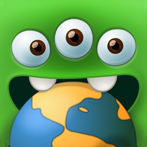 Yummy Little Planet (Xonix)