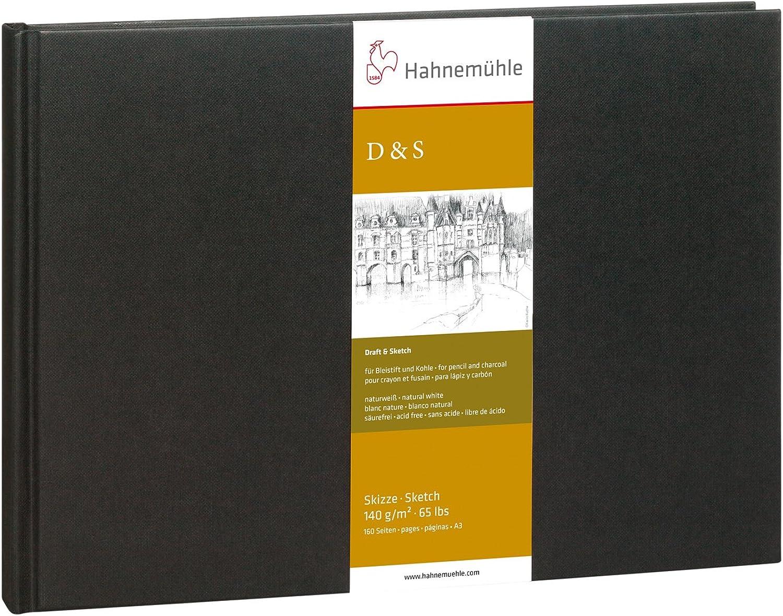 Skizzenbuch D&S schwarz 140g 140g 140g m², DIN A3 quer, 80Blatt B00511CAHO | Die Farbe ist sehr auffällig  | Um Sowohl Die Qualität Der Zähigkeit Und Härte  | Hochwertige Produkte  cc3f42
