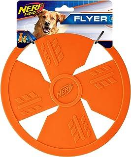 Nerf Dog TPR Flyer, 10-Inch, Orange