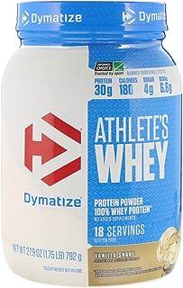 Dymatize Nutrition Athlete's Whey 28 Oz (1.75lb) (794g) Vanilla Shake, 1.7 Pound