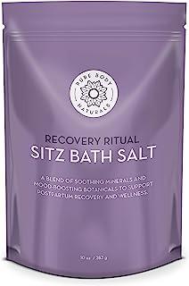 Sitz Bath Salt – Postpartum Care and Hemorrhoid Treatment – Natural Sitz Bath Soak with Epsom Salt, Dead Sea Salt, Essenti...