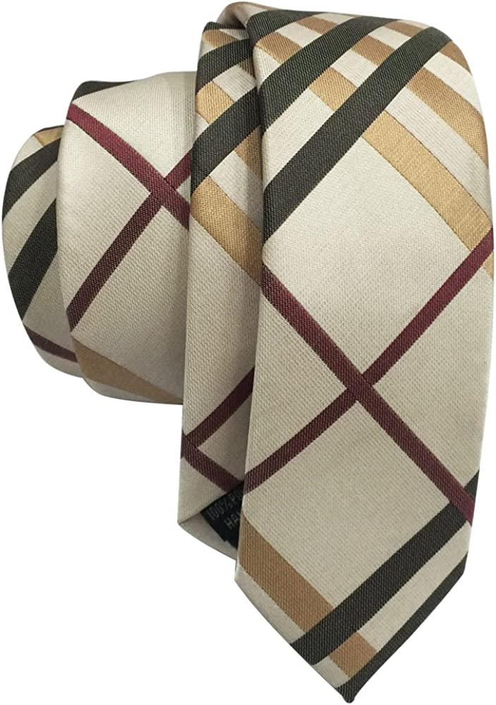 Mens Handmade Skinny Super intense SALE Tie Woven service Necktie Silk Neck