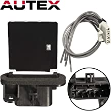 AUTEX Manual HVAC Blower Motor Resistor Compatible with Toyota Tacoma 2005 2006 2007 2008 2009 2010 2011 2012 2013 2014 2015 Blower Resistor RU746 8713804050 JA1772 4P1650