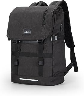 7f8d41ce39 Markryden Sac à dos pour ordinateur portable résistant backpack l'eau avec  port de charge