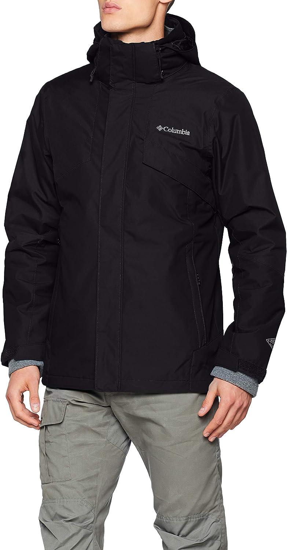 Columbia Wasserdichte Regenjacke für Herren, Bugaboo II Fleece Interchange Jacket, Nylon, 1800662