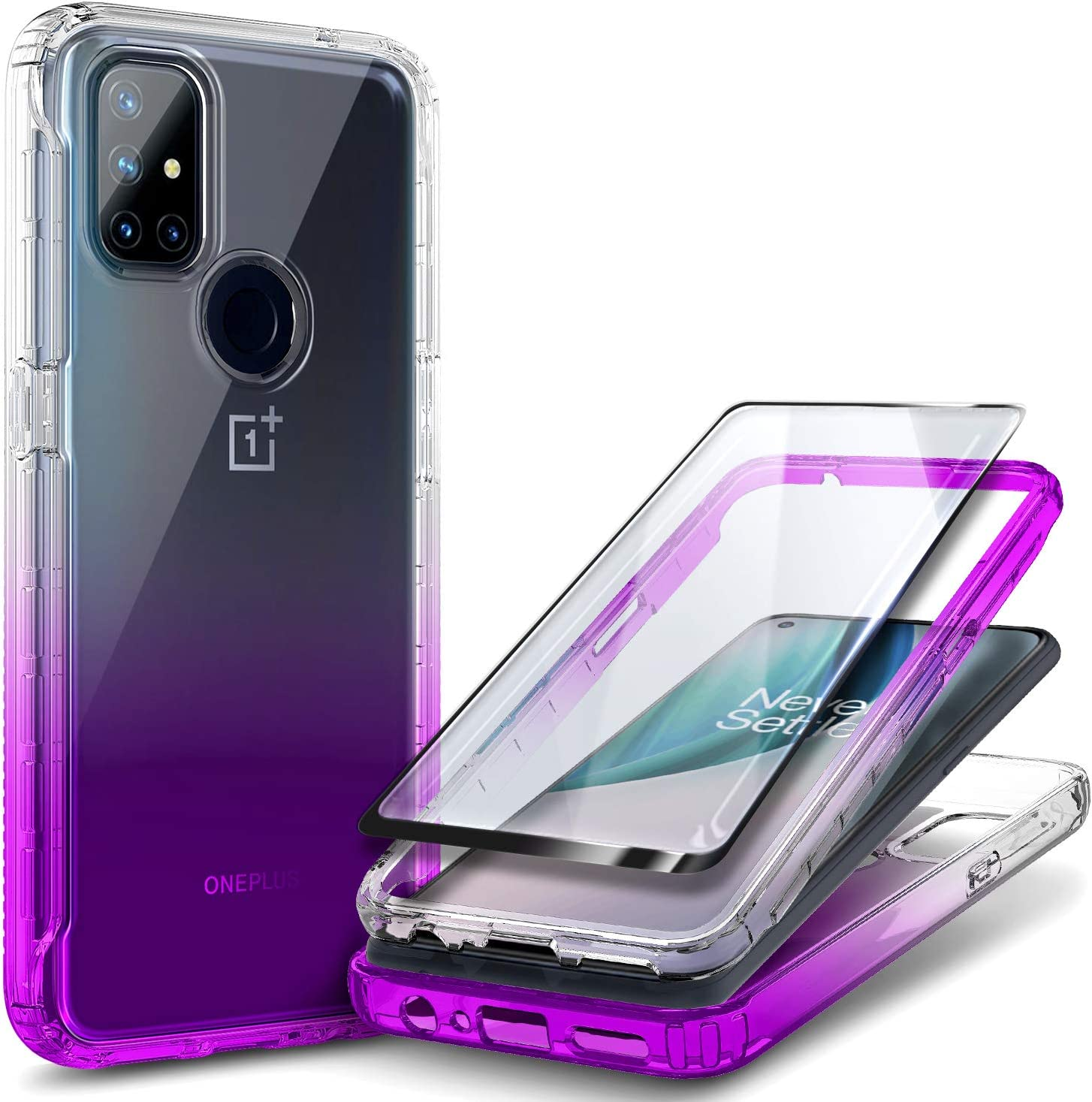 NZND Case for OnePlus Nord Max 40% OFF N10 Pro 5G Tempered Glass Kansas City Mall Screen with