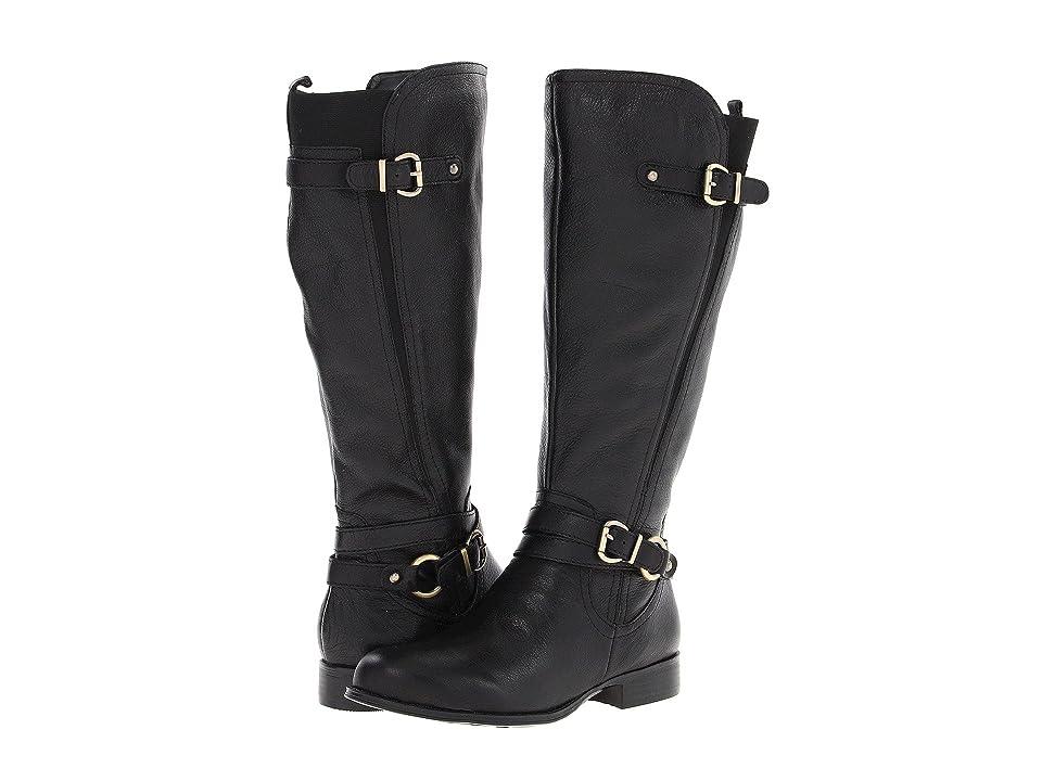 Naturalizer Juletta Wide Calf (Black Leather) Women