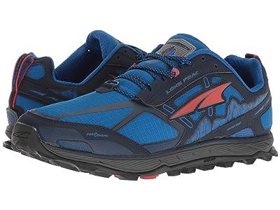 Altra Footwear Lone Peak 4 (Blue) Men