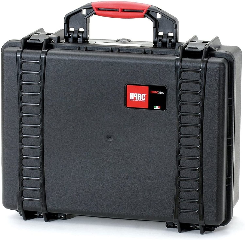 HPRC 2500DK Hardcase (TX01 Material, 25 Liter Volumen, mit Unterteilungs-Kit) schwarz