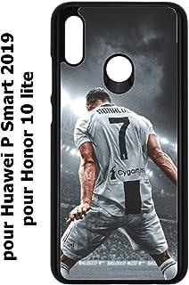 Housse DE Football PERSONNALIS/ÉE FABRIQU/ÉE en France MYCASEFC Coque Foot Ronaldo CR7 Huawei Mate 20 Lite Silicone Personnalisable