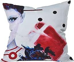 Deny Designs Lana Greben Nobody Calls Me By My Real Name 2 Throw Pillow, 20 x 20
