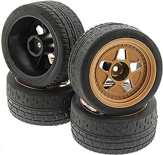 HPI 1/10 RS4 Sport 3 Drift Tires & FIFTEEN52 Tarmac R43 Bronze Wheels 12mm