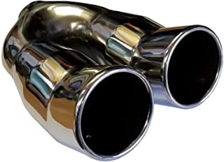 64mm-76mm XtremeAuto/® Car Exhaust Chrome Tail Trim Tip Pipe