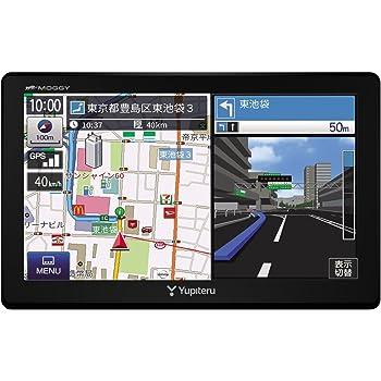 ユピテル ポータブルカーナビ YPB744 7型 ワンセグ/オービス取締り情報7万件以上収録 ロードサービス1年無料付 マップル旅行ガイドブック130冊分収録 12/24V車対応