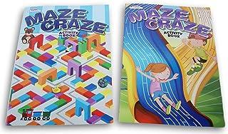 Maze Crazy Book Set for Ages 3-6